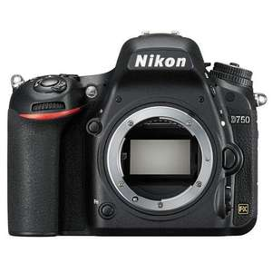 Nikon D750 FX Full frame newest model, Manager Special deal-only this week £1159.00 @ Portus Digital