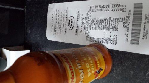 Nandos sauce scanning @ £1 usually £2.48 @ Asda