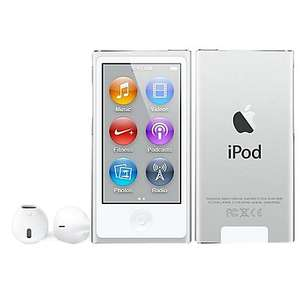 iPod Nano 16GB, Latest, All colours, £89 at John Lewis In-store & Reservation