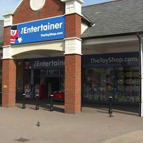 The entertainer Staines 50% off everything in store closing down