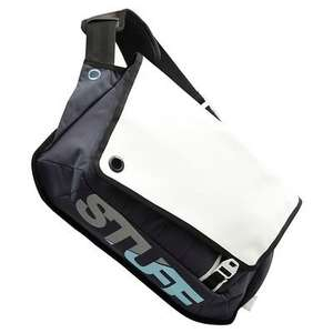 Decathalon B'TWIN Tilt 3 white/gry Messenger bag. Down From £16.99 To £5.50 +£3.99 delivery or free Click and collect