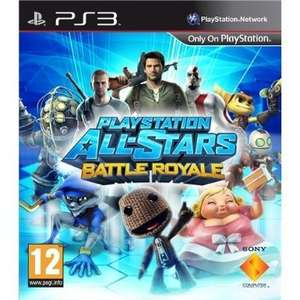 Playstation All-Star Battle Royale (PS3) £5 C&C @ Tesco Direct (possible cross-buy with free Vita copy)