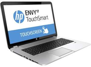 HP ENVY TouchSmart 17-j122na Laptop (£799 with £150 off) £649 Enter code JANSALE15