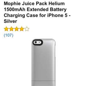 Mophie Juice Pack Helium £39.99 @ SAI Sales Fulfilled by Amazon