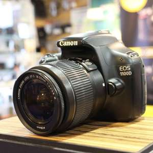Used Canon EOS 1100D DSLR with EF-S 18-55mm Lens - £150 @ harrisoncameras