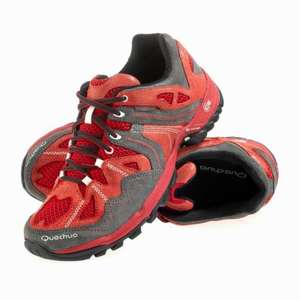 QUECHUA Arpenaz Flex Men's Hiking Shoes, Red £3.99 at Decathlon