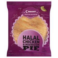 Half Price Chicken & Mushroom Pie 60p Tesco