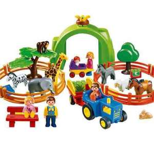 Playmobil 123 Large Zoo £10 @ Tesco instore (was £40)