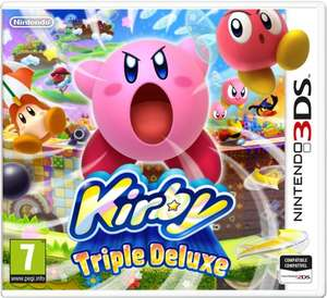 Kirby Triple Deluxe 3DS £21.99 @ Argos (free Click & Collect)