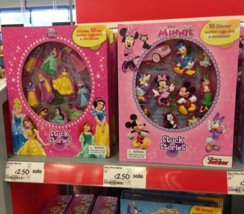 Disney stuck on stories. Half price £2.50 @ Asda in store.