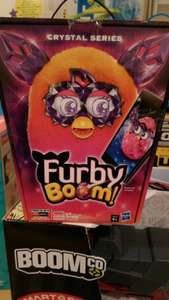 Furby boom crystal series Scanned at £15.00 @ Tesco in store