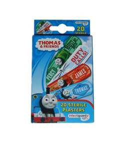 Thomas the Tank plasters Home Bargains 19p