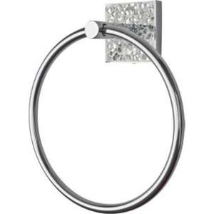 Now £1.99 Was £9.99 Crackle Glass Towel Ring @ Argos