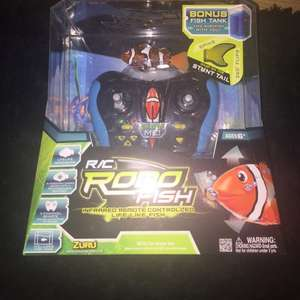 Robofish remote controlled fish with tank £6 INSTORE at tesco