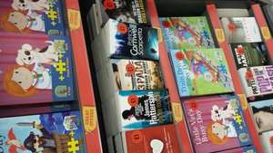 paperback books £1 in store at Sainsburys