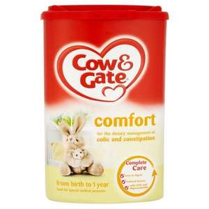 Cow and Gate comfort 900g £2.86 + delivery and other bargains @ Rowlands pharmacy