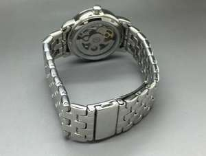 Ladies Rotary Silver Stars Skeleton Automatic Watch and necklace £59.99 SAVE £40.00 @ Argos