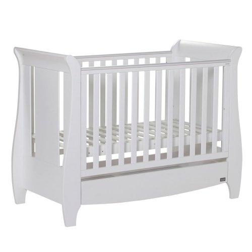Tutti Bambini Katie Dropside Sleigh Cot (White) £57.99 @ Amazon