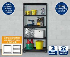 ALDI garage shelving £19.99
