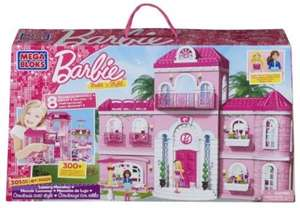 Mega Bloks Barbie Build 'n Style Luxury Mansion £15.99 Delivered @ Amazon