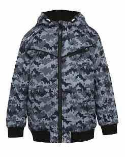 Kids Patterned Hooded Jacket £2.50 @ Asda George
