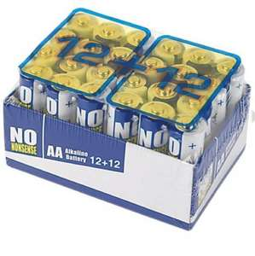 24 batteries AA £3.99 @ Screwfix 10/10 reviews