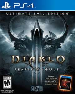 Diablo III: Reaper of Souls - Ultimate Evil Edition (PS4) @ Asda Direct