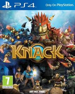 Knack PS4 £15 @ Asda Direct