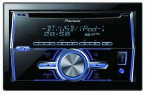 PIONEER FH-X700BT DOUBLE DIN CAR CD PLAYER @ Amazon £99.99
