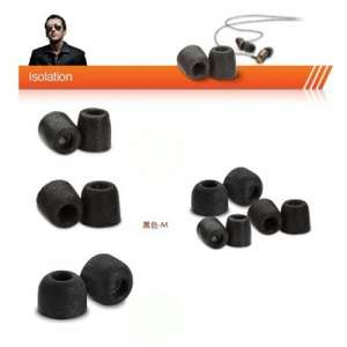Comply T-400 Isolation Earphone Tips Medium Black 3 Pairs £9.99 @ Amazon