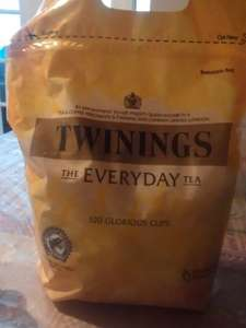 twinings everyday bumper pack of teabags, 320 for £4.95 at farmfoods
