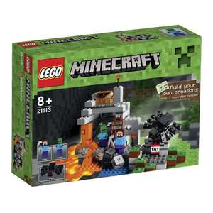 Lego Minecraft Sets back in stock from £19.98 delivered at Amazon