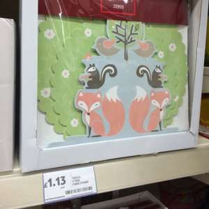 2 tier woodland theme cake stand £1.13 instore at Tesco