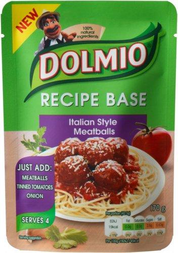 Dolmio Recipe Base (170g) was £1.50 now 75p @ Tesco