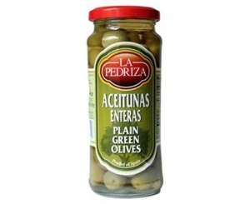 La Pedriza Spanish Olives - Green or Black (340g) 0.59p