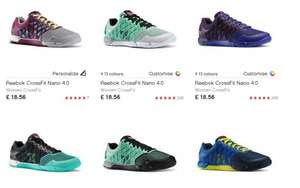 Reebok CrossFit Nano 4.0 Trainers £22.51 Delivered TCB £1.78 Reduced from £75! @ Reebok Store