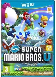 New Super Mario Bros U on Nintendo Wii U for £16.85 Delivered @ Simply Games