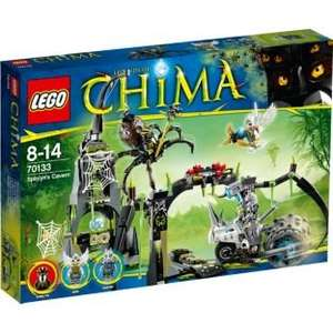 LEGO® Chima Spinlyn's Cavern - 70133 - CLEARANCE - NOW - £24.49! @ Argos (£52.00 on Amazon)