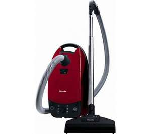 MIELE Complete C1 Cat & Dog PowerLine Cylinder Vacuum Cleaner - Mango Red @ currys.  Now £149.00
