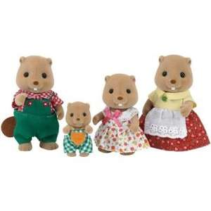 Sylvanian Families Beaver Family £7.99 at Argos with free delivery
