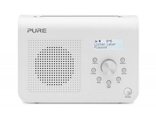 Pure ONE Classic Series II Portable DAB/FM Radio - White @ Amazon £22.95