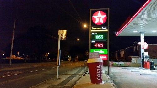 Texaco fuel price drop! -  Unleaded 105.5 & Diesel 112.5 (Birmingham)