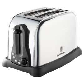 Russell Hobbs  Polished 2 Slice Toaster Just £10 at Tesco (Was £44) - Free C&C
