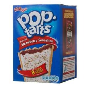 Kellogg's Pop Tarts Strawberry & Chocolate 8 Pack down to £1.59 @ B & M Stores (£2.68 @ Morrisons)