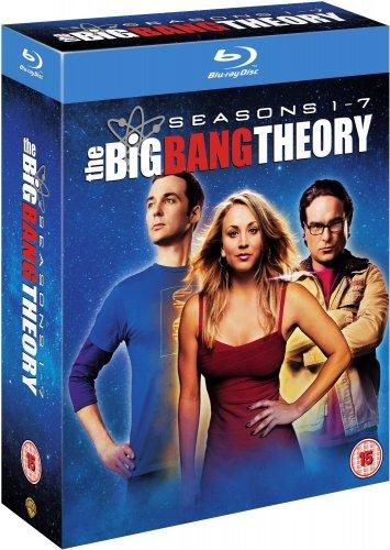 The Big Bang Theory - Season 1-7 Blu-ray £26.28 @ Amazon