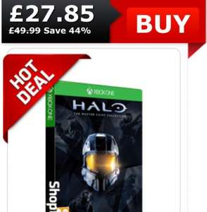 Halo: Master Chief Collection w/ Bonded Pair DLC and Halo 5 Beta XBOX ONE £27.85 @ ShopTo