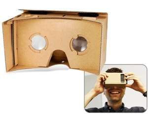 5.0'' DIY Google Cardboard Mobile Phone Virtual Reality 3D Glasses £1.93 @ Focal Price