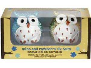 ** Owl Lip Balms, Set of 2 now only £1.25 @ Tesco Direct **
