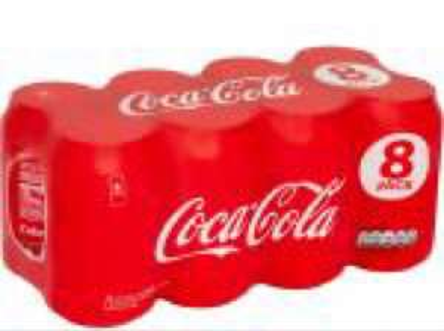 Coke Cola/Diet Coke 8PK £2.50 @ Costcutter
