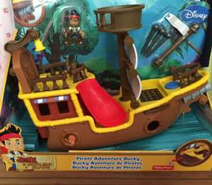 Jake and the never land pirates ship scanning £10 @ tesco